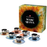 Artistic Espresso Cups from illy Art Collection Marc Quinn (Set of 6)