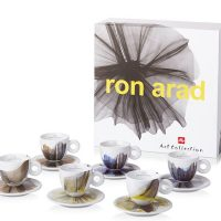 Artistic Espresso Cups from illy Art Collection Ron Arad (Set of 6)