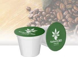 Naked CBD K Cups 12 Count - CBD Coffee