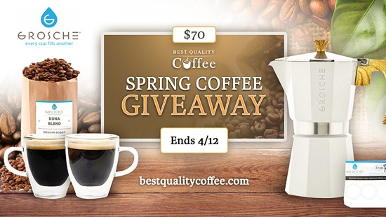 Grosche Coffee Giveaway