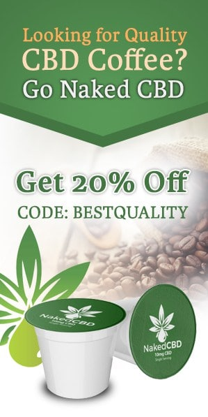 Naked CBD Coffee 20% Off