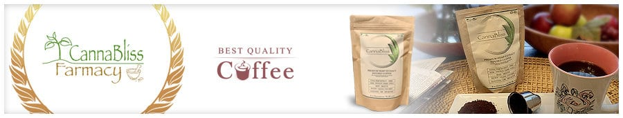 Cannabliss Organic CBD Coffee