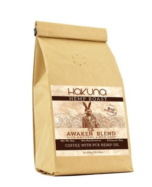 Hakuna CBD Coffee Awaken Blend - Hemp Coffee 8oz
