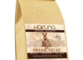 Hakuna Decaf CBD Coffee Dream Blend - Hemp Coffee 8oz