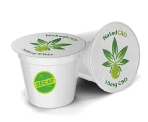 Naked CBD Decaf K Cups 12 Count - CBD Coffee