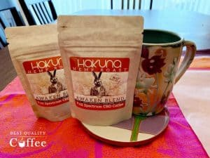 Hakuna CBD Coffee Review - Awaken Blend Hemp Coffee
