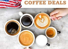 Top Memorial Day Coffee Deals and Coupons