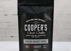 Cooper Cask Sumatra Whiskey Barrel Aged Dark Roast Coffee 12 oz
