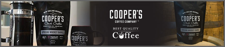 Barrel Aged Coffee - Whiskey Bourbon Cooper's Cask Coffee