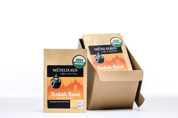 Portable Pour Over - Single Serve Pour Over Packets - Muhlhaus Coffee