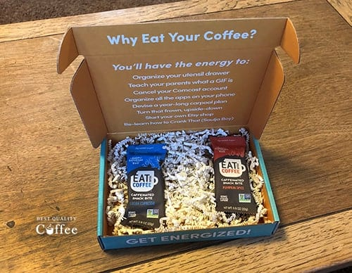 Eat Your Coffee Review - Box