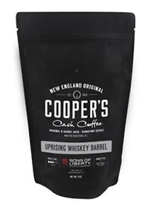 Cooper's Cask Coffee Review - Whiskey Barrel Aged Coffee