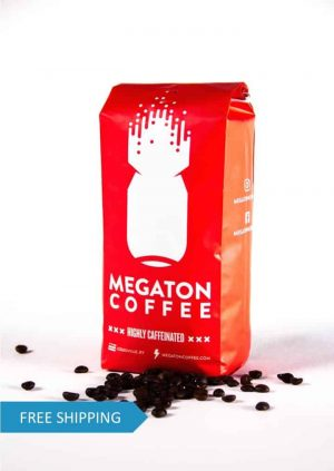 Megaton Coffee Whole Bean High Caffeine Coffee