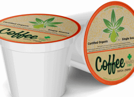 NakedCBD Nano CBD Coffee KCups