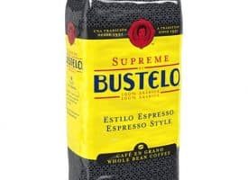 Folgers Whole Bean Coffee, Cafe Bustelo Supreme, Dark, 32 oz.
