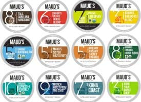Maud's Coffee Variety Box - 136ct