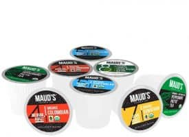 Organic, Fair Trade Coffee Pods Sample - 12ct