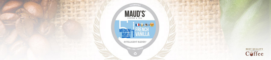 Best French Vanilla K Cups and Coffee Pods - Maud's Coffee