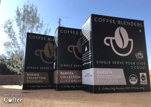 Coffee Blenders Review - Organic Single Serve Pour Over Pouches