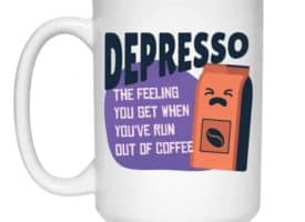 Depresso Quality Coffee Mug