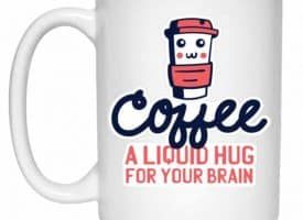 Coffee Liquid Hug Mug