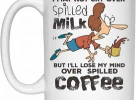 Spilled Milk Coffee Mug