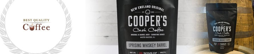 Best Gifts for Coffee Snobs - Cooper Cask Barrel Aged Coffee