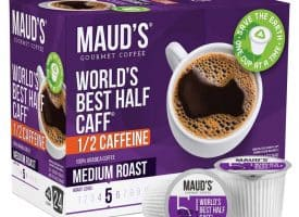 24 Half-Caffeinated Coffee Pods Trial