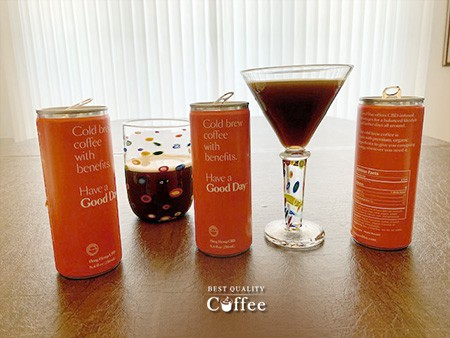 Good Day Beverages CBD Cold Brew