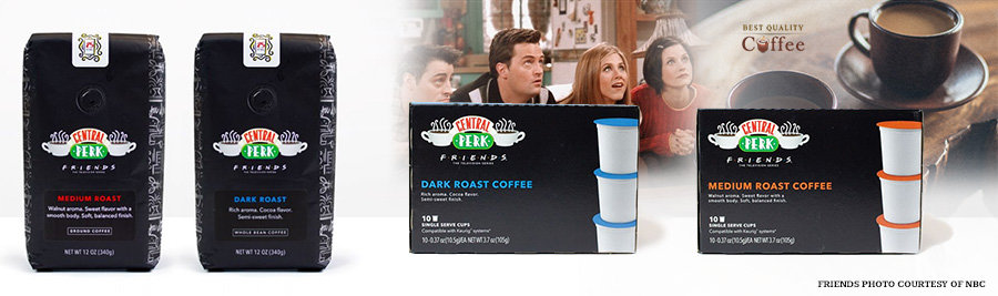 Central Perk Coffee and K Cups