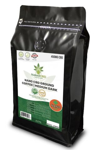NakedCBD Nano Ground Coffee