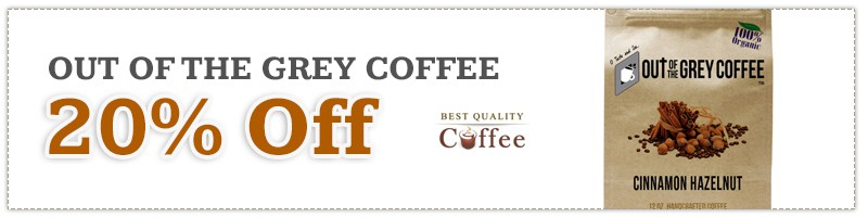 Out of the Grey Coffee Discount Black Friday