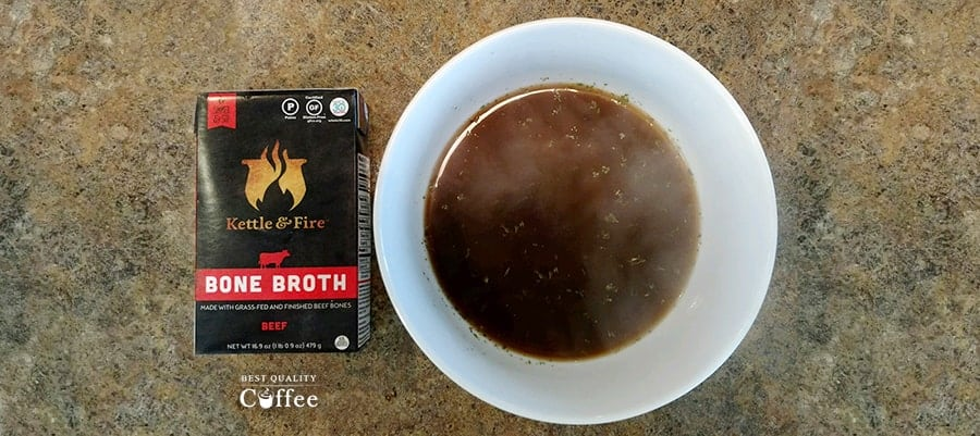 Kettle And Fire - Beef Broth
