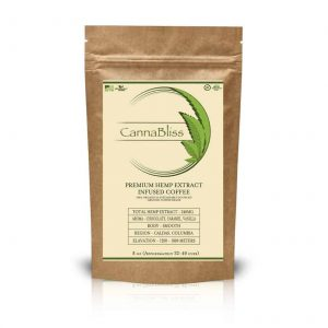 Canabliss Farmacy CBD Coffee - Full Spectrum Hemp Extract 8oz