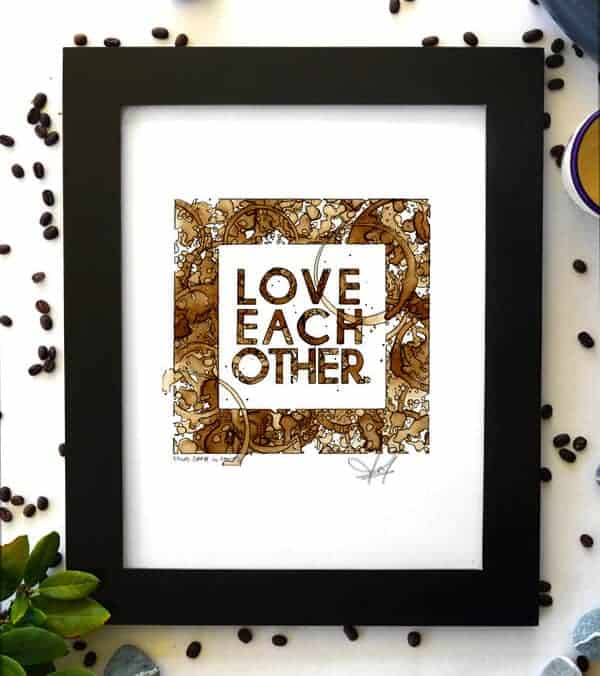 Coffee on Canvas - Best Coffee Art
