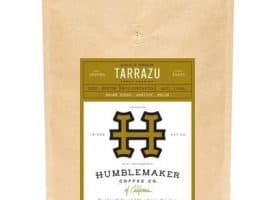 Humblemaker Coffee Whole Bean Tarrazu Light Roast 12oz
