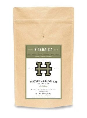 Humblemaker Coffee Whole Bean Colombian Light Roast 12oz