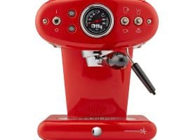 illy X1 iperEspresso Anniversary 1935 Machine - Red