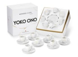 illy Yoko Ono MENDED CUPS Set Of 7 Espresso Cups