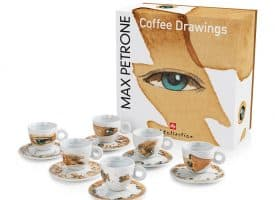 illy Max Petrone Set of 6 Cappuccino Cups