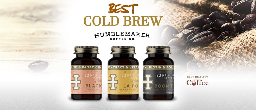 Best Bottled Cold Brew - Humblemaker Coffee
