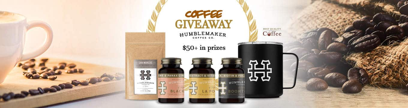 Humblemaker Coffee - Best Quality Coffee Humblemaker Coffee Giveaway (Cold Brew and Hot Coffee)