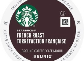 Starbucks French Roast Coffee K-Cup