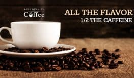 What is Half Caff Coffee?