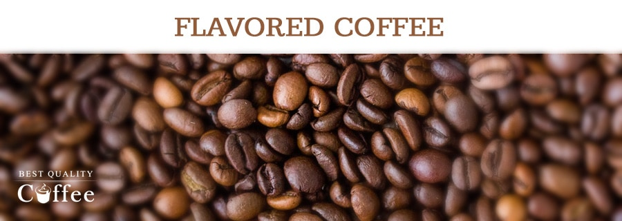 How if flavored coffee made