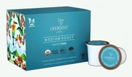 Lifeboost K Cups and Coffee Pods
