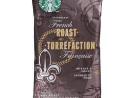 Starbucks French Roast Ground Coffee Packets Portion Pack