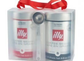 illy illy Whole Bean Coffee Lovers 2-Pack Gift Set