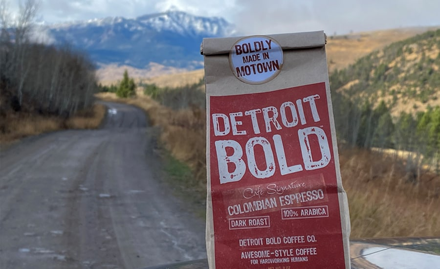 Bold Colombian Espresso from Detroit Bold