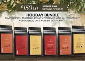 Lifeboost Coffee Holiday Bundle